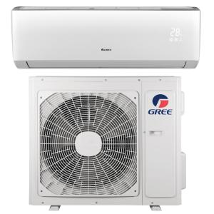 N LIVO 9,000 BTU 3/4 Ton Ductless Mini Split Air Conditioner with Inverter, Heat, Remote 208-230V/60Hz by N