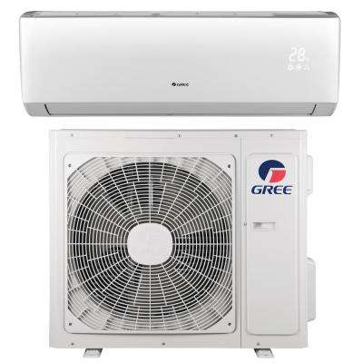 LIVO 12,000 BTU 1 Ton Ductless Mini Split Air Conditioner with Inverter, Heat, Remote 115V/60Hz