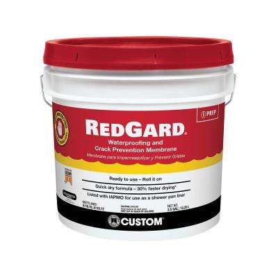 RedGard 3-1/2 Gal. Waterproofing and Crack Prevention Membrane