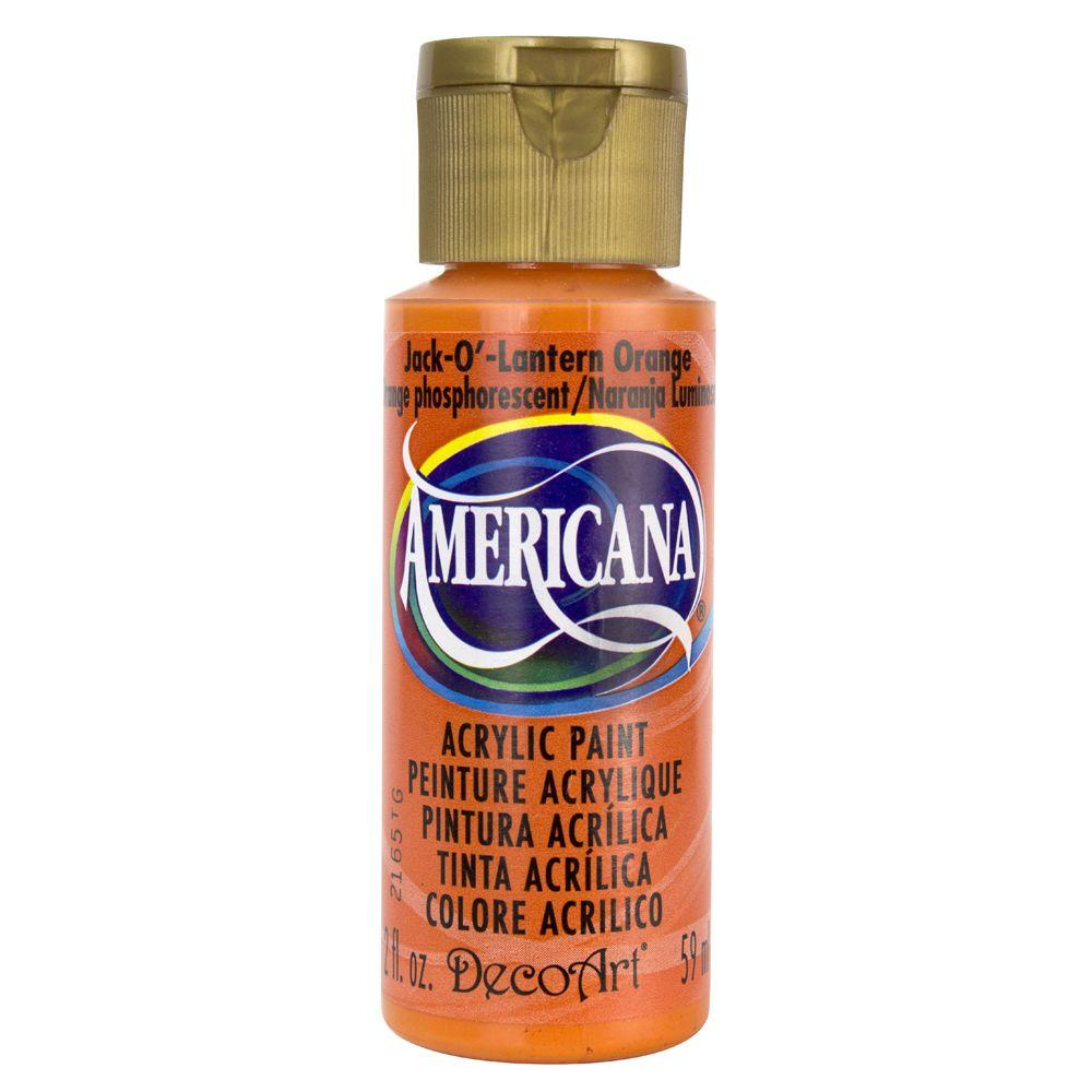 Americana 2 oz. Jack O' Lantern Orange Acrylic Paint