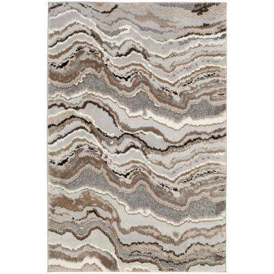 Marble Multi 7 ft. 10 in. x 9 ft. 10 in. Area Rug