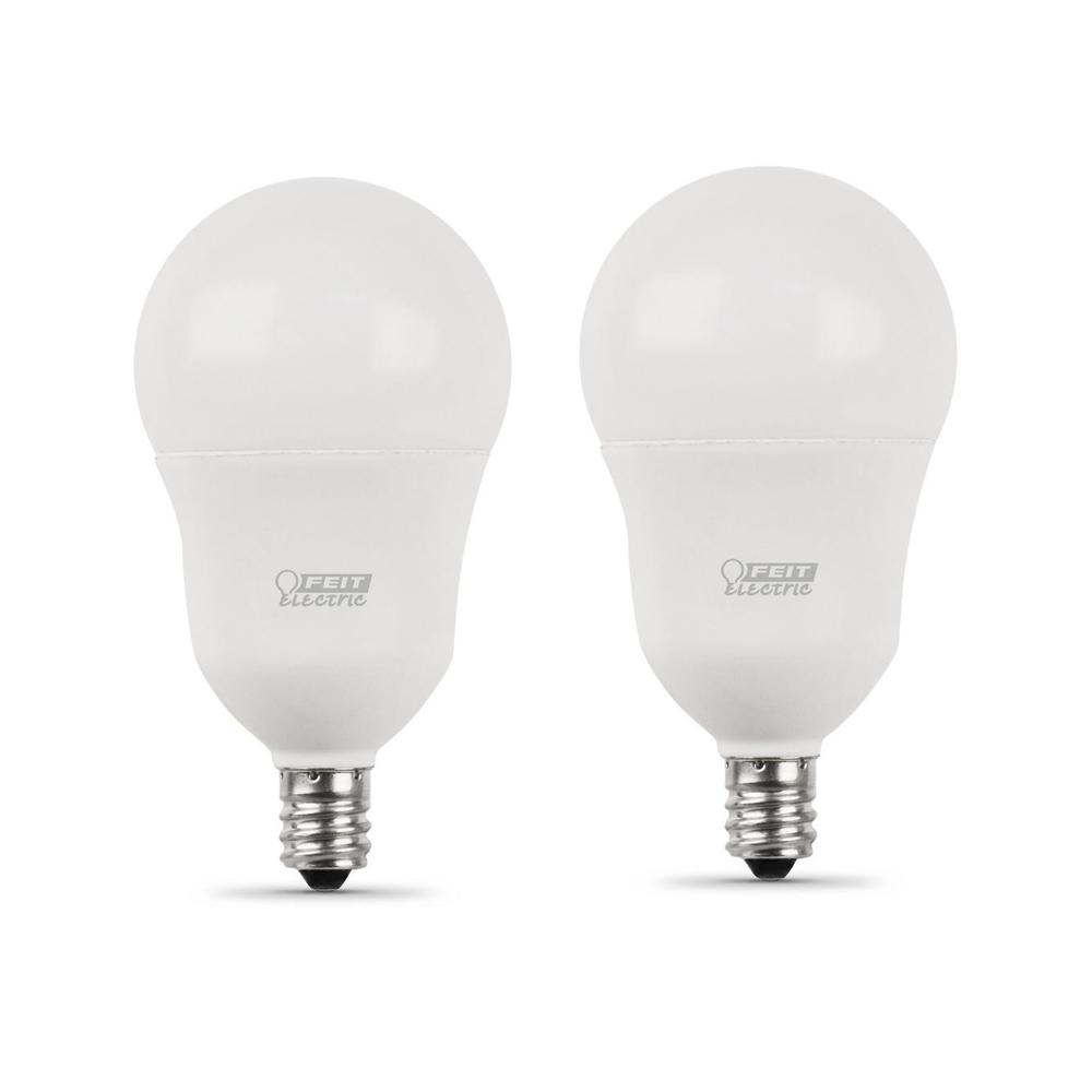 40-Watt Equivalent A15 Candelabra Dimmable CEC LED ENERGY STAR 90+ CRI