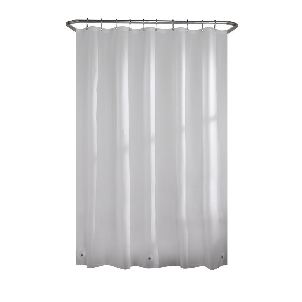 Glacier Bay PEVA Medium 5-Gauge Stall Liner 42 in. W x 78 in. H in Frosted