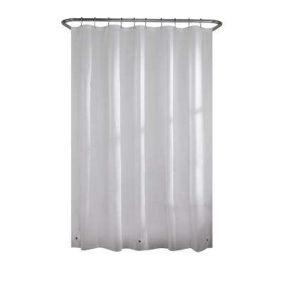 PEVA Medium 5-Gauge Stall Liner 42 in. W x 78 in. H in Frosted