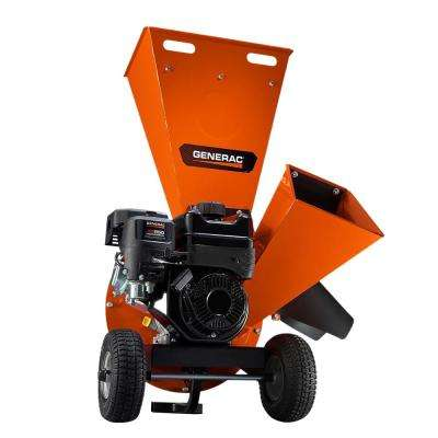 3 in. 208cc Heavy-Duty Gas Powered Chipper Shredder