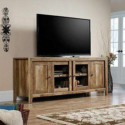 Dakota Craftsman Oak Entertainment Center