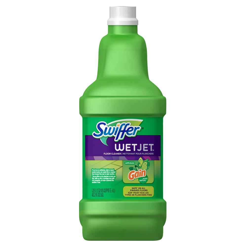 Swiffer Wetjet 42 Oz Antibacterial Floor Cleaner Refill