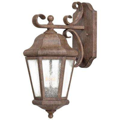 Taylor Court 2-Light Vintage Rust Outdoor Wall Mount Lantern