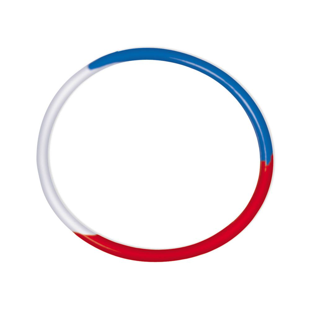 Red White And Blue Rubber Bracelets 16 Count