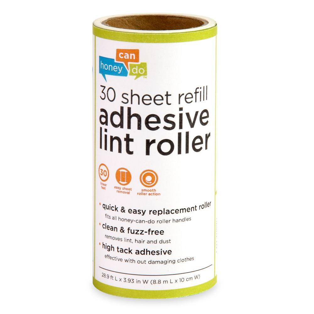 Honey-Can-Do 30-Sheet Lint Roller Refill (6-Pack)
