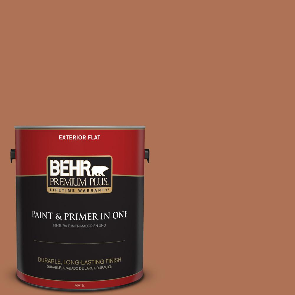 1 gal. #PPU3-15 Glazed Pot Flat Exterior Paint