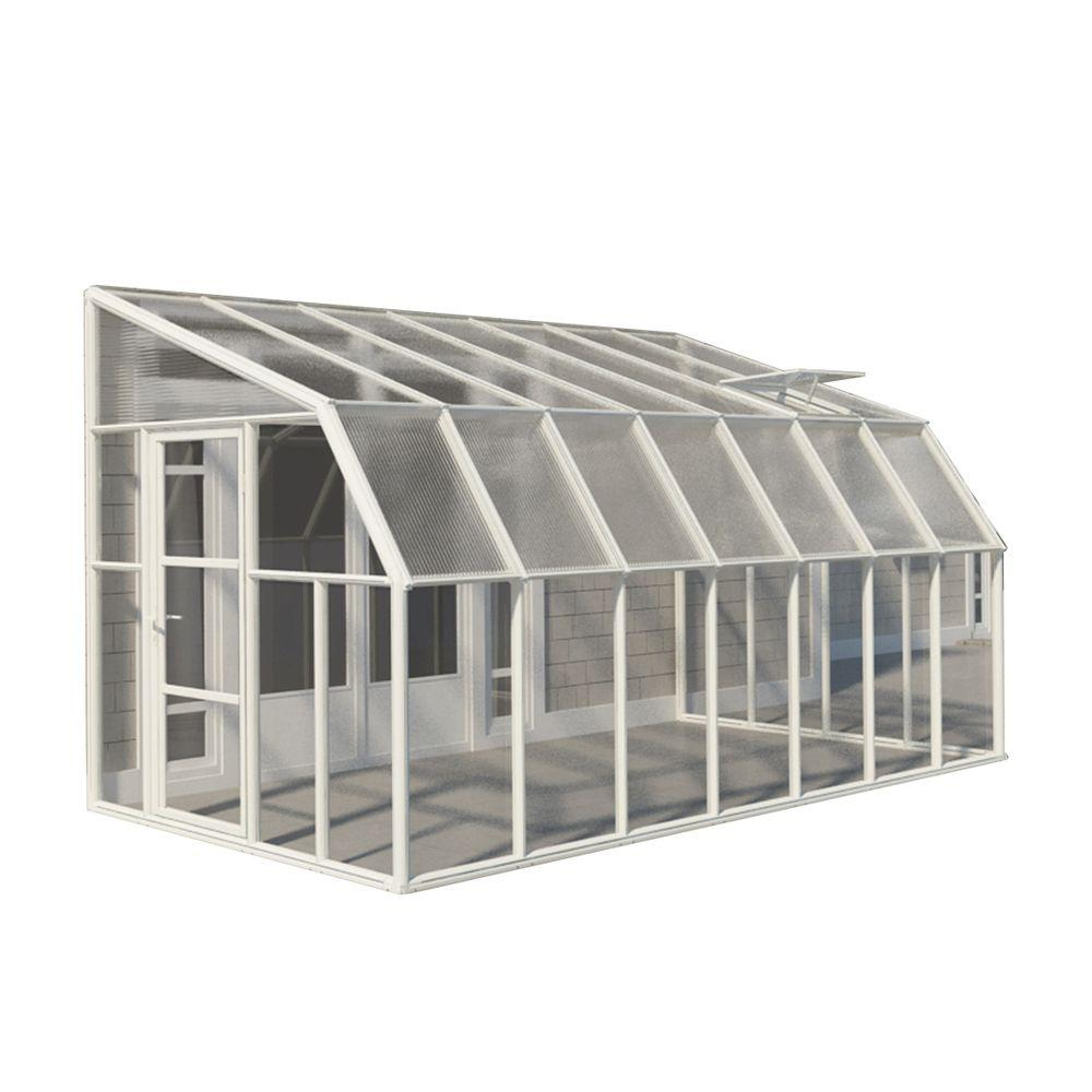 Rion Sun Room 8 Ft X 14 Ft Clear Greenhouse