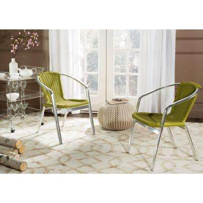Wrangell Green Patio Dining Chair (2 Pack)