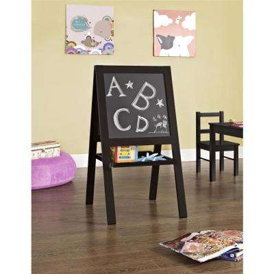 Shelby Espresso Kid's Floor Easel