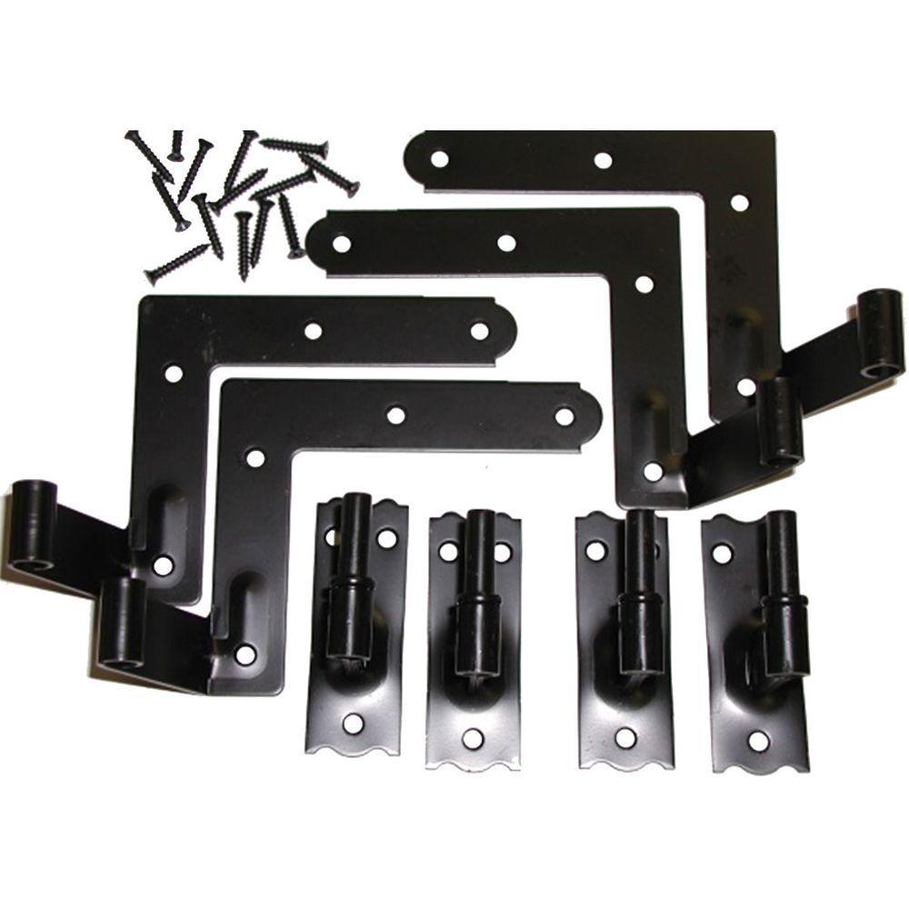 Shutter Locks & Decorative Hardware - Exterior Shutters - The Home Depot