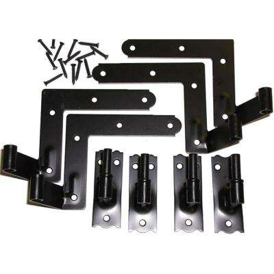 1-1/16 in. Offset Hinge Set (4 Hinges)