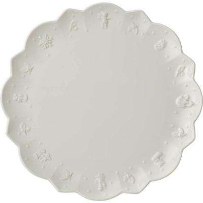 Toy's Delight Royal Classic 11.5 in. White Dinner Plate