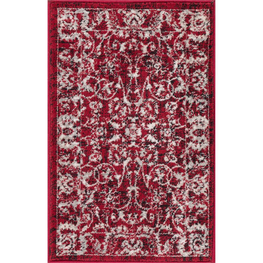 Well Woven New Age Sonoma Charcoal 2 Ft 3 In X 11 Traditional Vintage Distressed Oriental Area Rug P Am 13 The Home Depot
