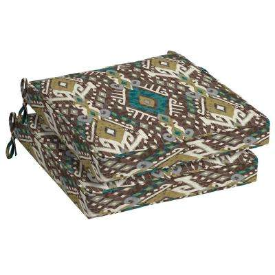 Tenganan Square Outdoor Seat Cushion (2-Pack)