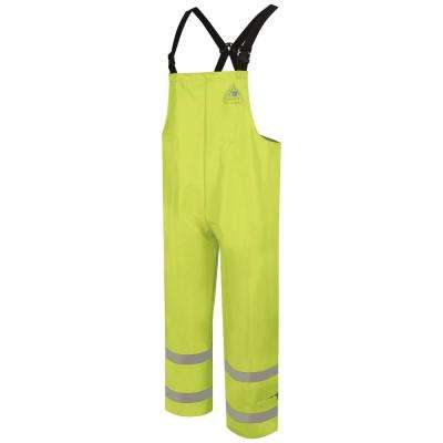 Men's Medium Yellow/Green Hi-Visibility Breathable Rainwear