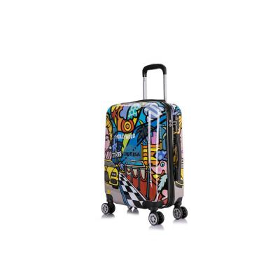 Hollywood Prints Lightweight Hardside Spinner 20 in. Carry-on