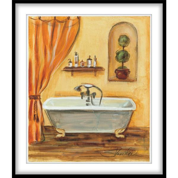 Tuscan Bath I Framed Wall Art