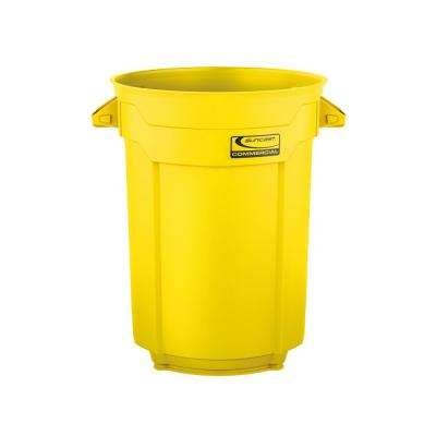 55 Gal. Yellow Commercial Trash Can