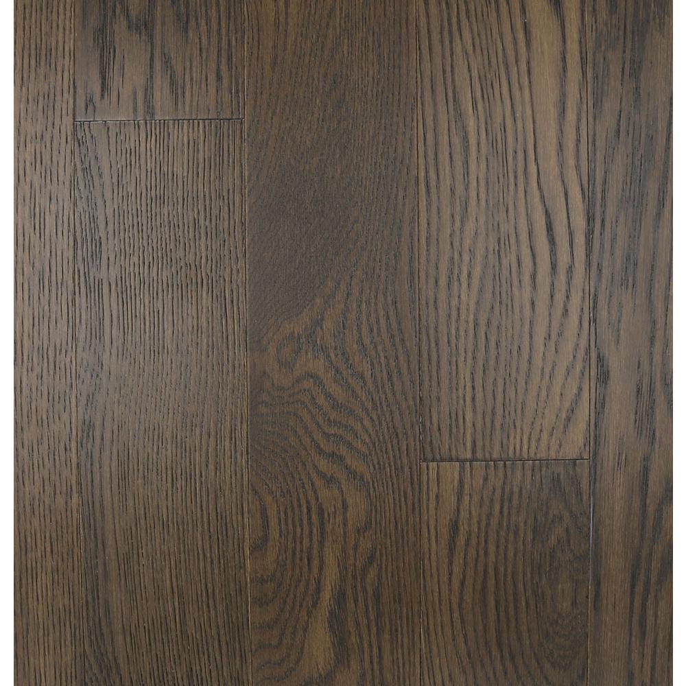 Islander Take Home Sample Rustic Barn Engineered Waterproof Hardwood Flooring 5 In. Width X 6 In. Length