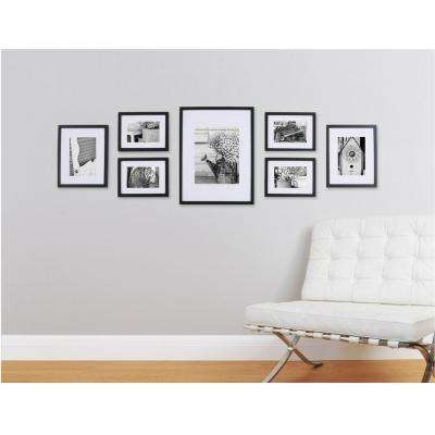 7-Opening Matted Picture Frame Collage Set
