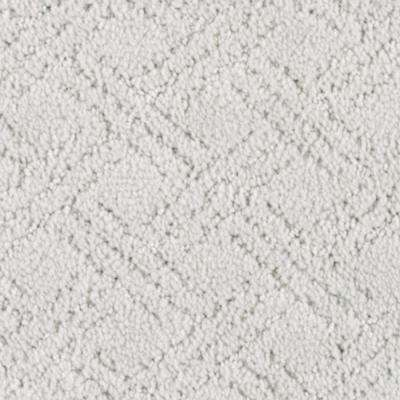 Carpet Sample - Pure - Color Misty Morn Pattern 8 in. x 8 in.