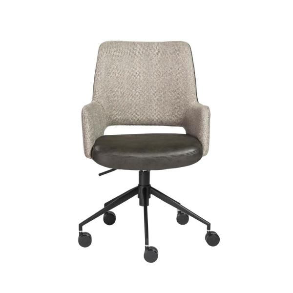 Eurostyle Desi Gray Office Chair 30483DKGRY