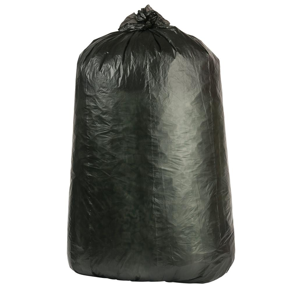 32-33 Gal. Black High-Density Trash Bags (Case of 250)