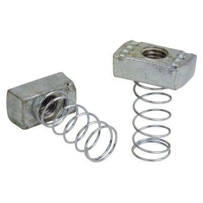 3/8 in. Steel Channel Spring Nut (5-Pack)