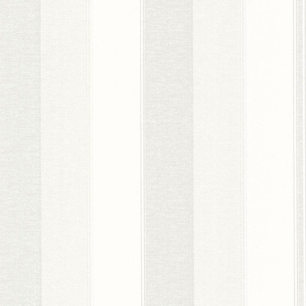 Millinocket Cream Illusion Stripe Paper Strippable Roll (Covers 56.4 sq. ft.)
