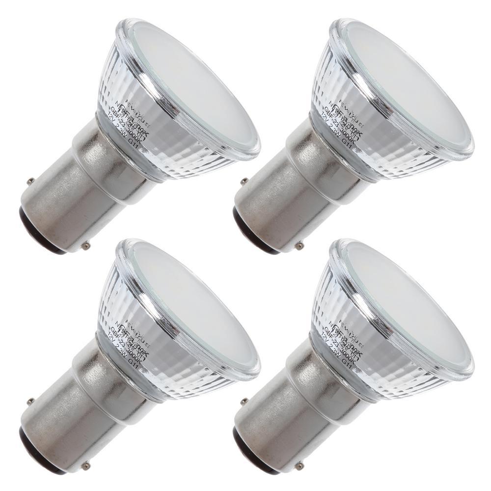 20-Watt Equivalent MR11 LED Light Bulb Warm White (4-Pack)