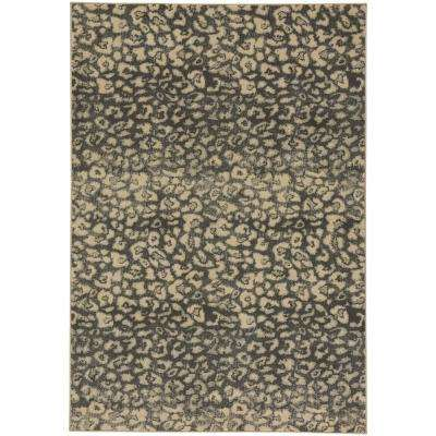 Kevin O'Brien Ingwe Coal 5 ft. 3 in. x 7 ft. 6 in. Area Rug