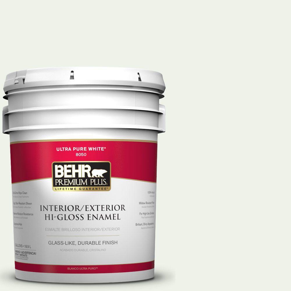 5-gal. #M370-1 Fresh Dew Hi-Gloss Enamel Interior/Exterior Paint