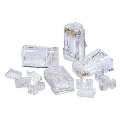 RJ45 Cat6 Modular Plugs (25-Pack)
