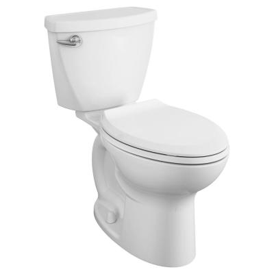 Cadet 3 Tall Height 10 in. Rough-In 2-piece 1.28 GPF Single Flush Elongated Toilet in White,  Seat Included (4-Pack)