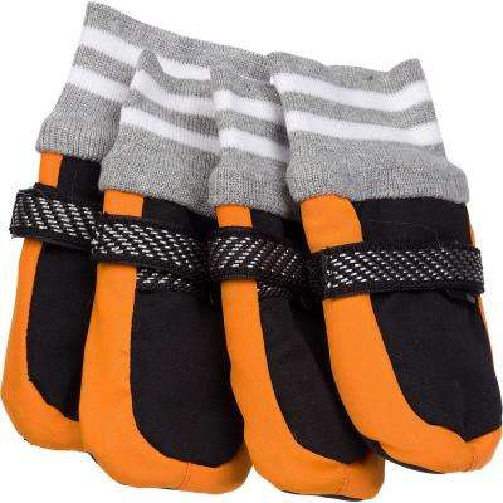 Orange Adjustable Boots - 1 Size Fits All