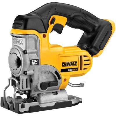 20-Volt Max Lithium-Ion Cordless Jig Saw (Tool-Only)
