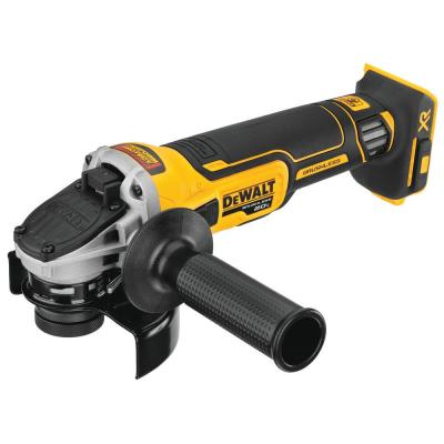20-Volt MAX Cordless Brushless 4-1/2 in. Small Angle Grinder (Tool-Only) with Slide Switch