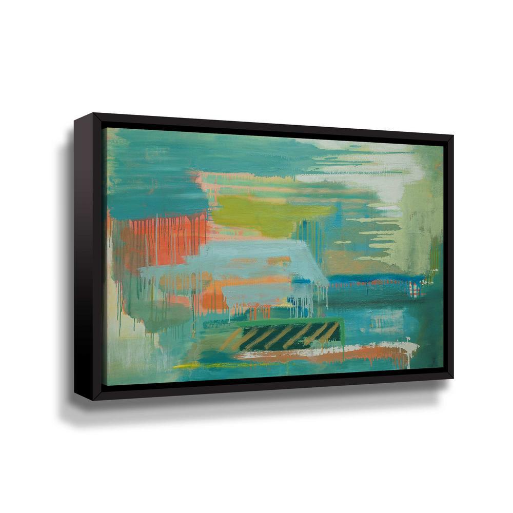 ArtWall Drift Away VI' by Carolyn O'Neill Framed Canvas Wall Art