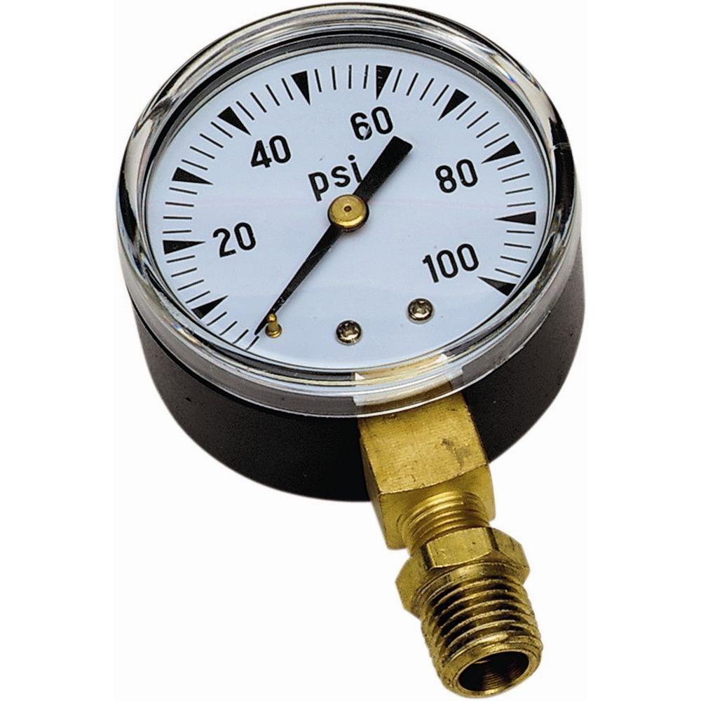 100 PSI Pressure Gauge