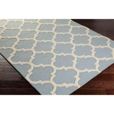 Blue Canvas Backing Bohemian Area Rugs Rugs The Home Depot