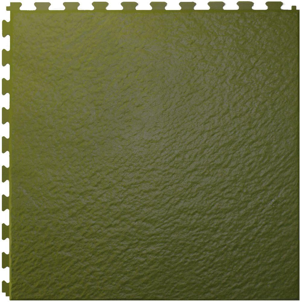 IT-tile Slate Tuscany Green 20 In. x 20 In. Residential & Commercial, Hidden Seam Multi-Purpose Floor, 6 Tile-DISCONTINUED