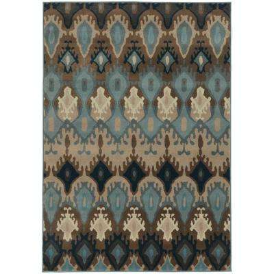 Austin Slate 9 ft. 10 in. x 12 ft. 9 in. Area Rug
