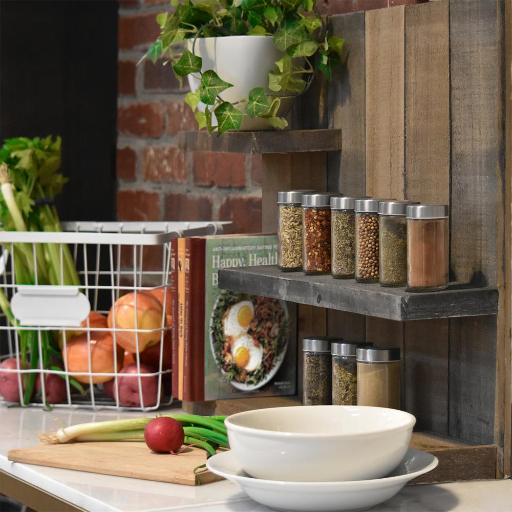 reclaimed wood wall shelves bar urban trends collection 24 in 19 wood wall shelf shelf26487