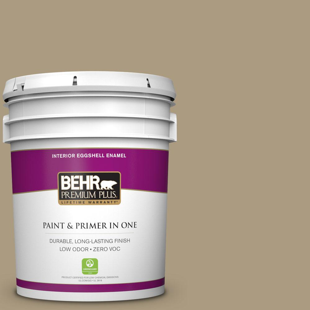 BEHR Premium Plus 5-gal. #BNC-16 Winter Sage Eggshell Enamel Interior Paint