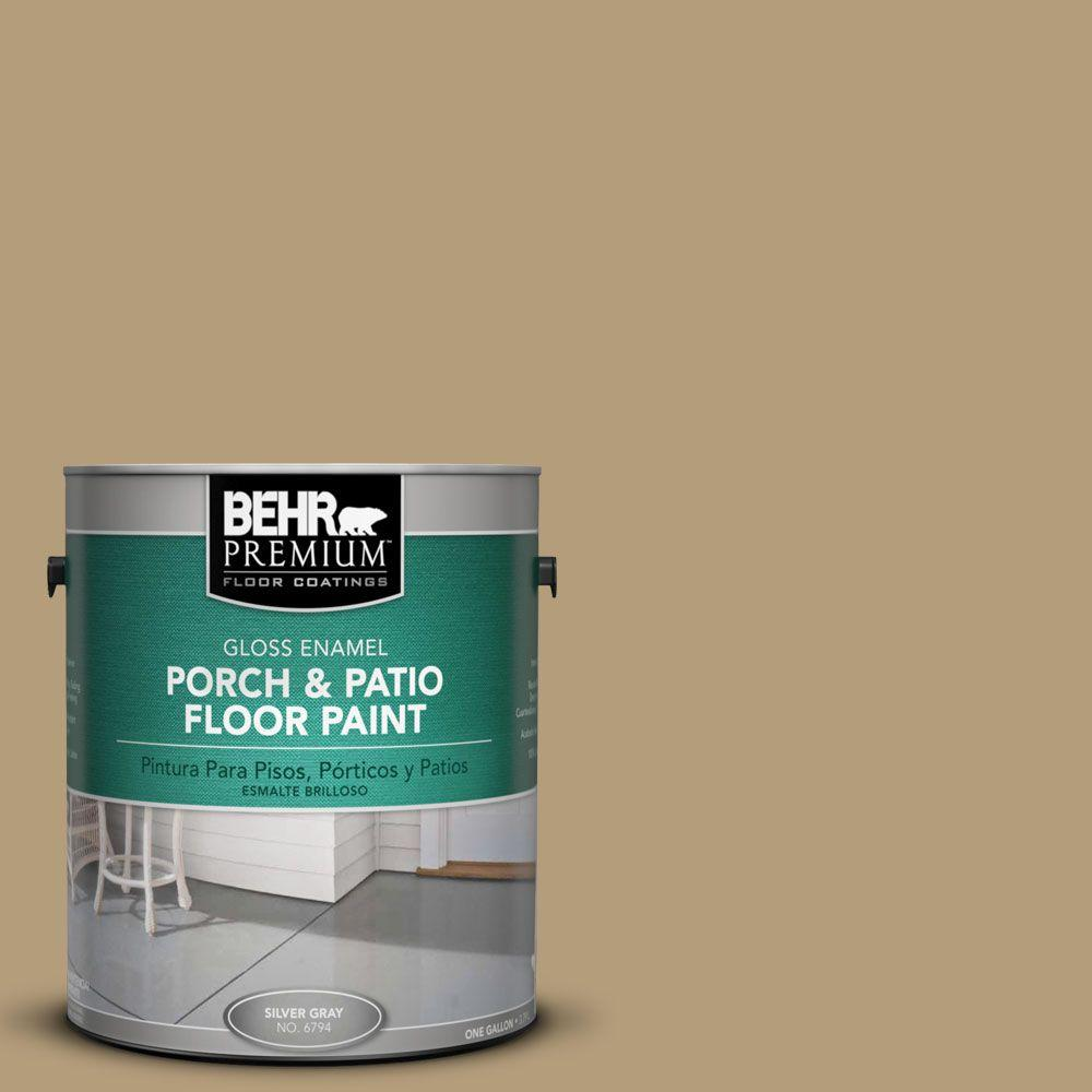 BEHR Premium 1-gal. #PFC-28 Desert Sandstone Gloss Porch and Patio Floor Paint